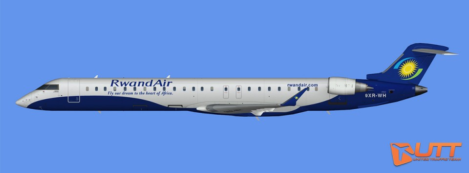 RwandAir CRJ-900 (FSX)