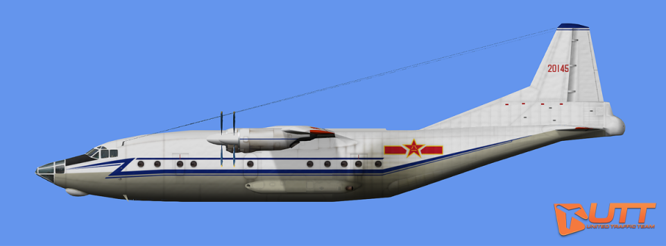 AI Shaanxi Y-8 China Air Force Pack