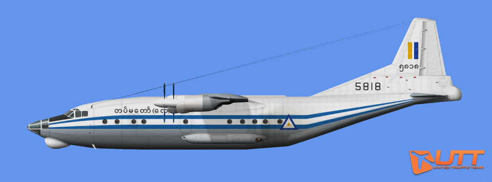 AI Shaanxi Y-8F - Myanmar Air Force