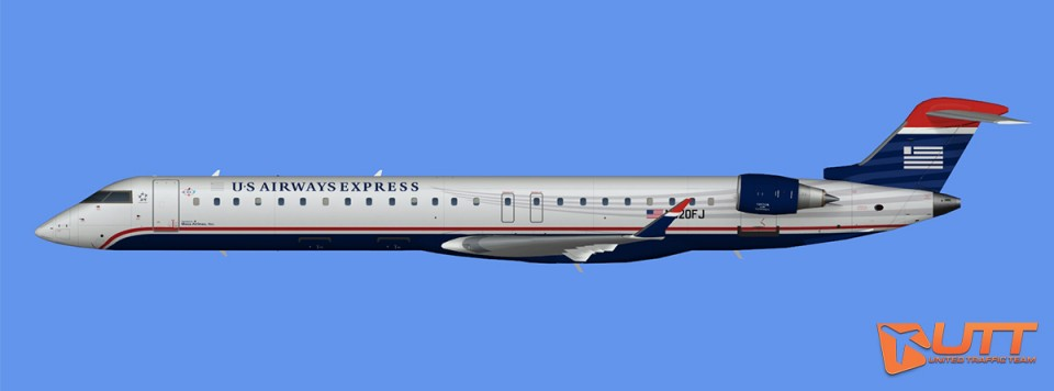 US Airways Express CRJ-900 (FS2004)