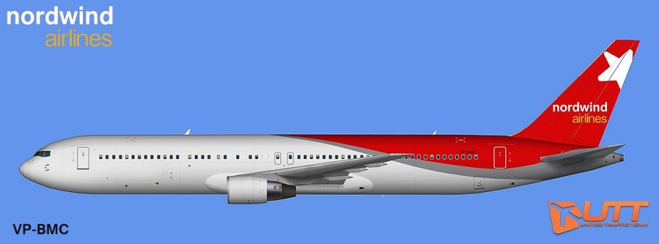 AIA AI Boeing 767-300 PW Nordwind Airlines