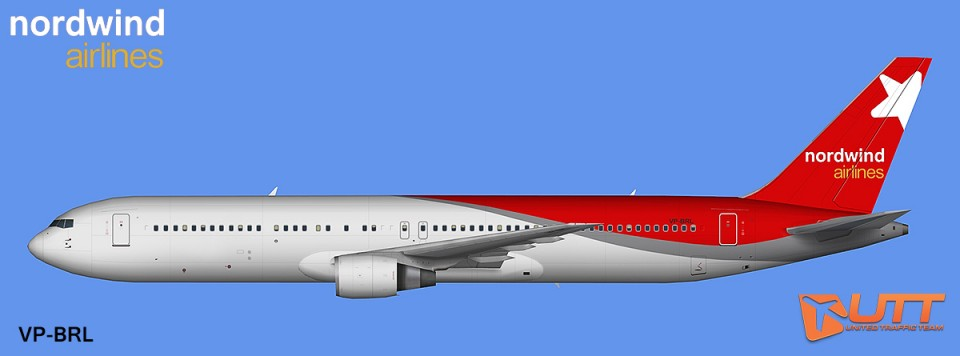 AIA AI Boeing 767-300 GE Nordwind Airlines