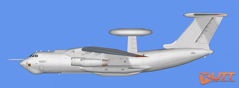 RATS AI Ilyushin Il-78 and Il-A50 Base Model
