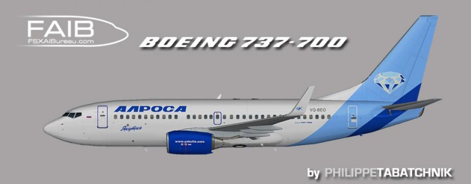BOEING 737-700 Yakutia opf Alrosa.