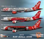 Airbus A320-200 AirAsia (AFA,AFL,AQH)
