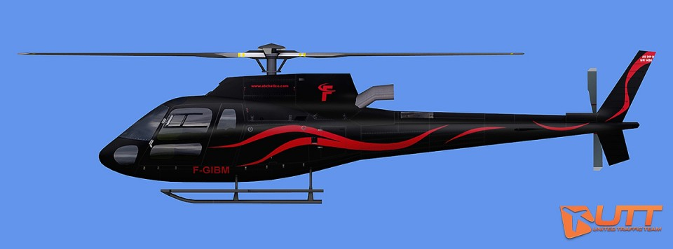 Private AS350 F-GIBM