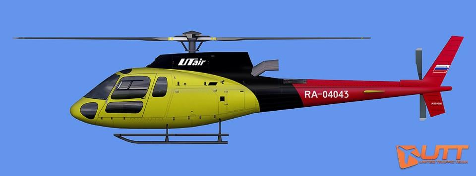 Utair AS350 RA04043