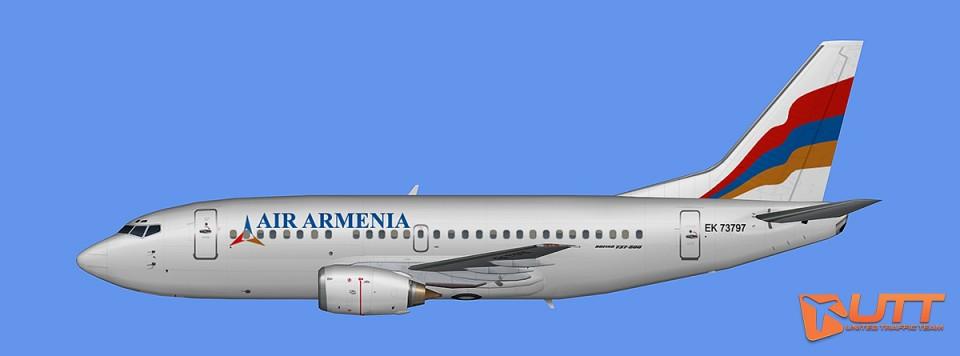 AI B737-500 Air Armenia