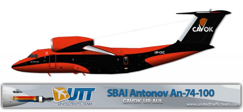 CAVOK Antonov AN-74