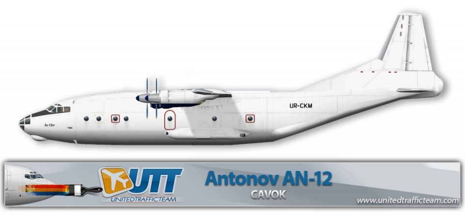 CAVOK Antonov AN-12 UR-CKM
