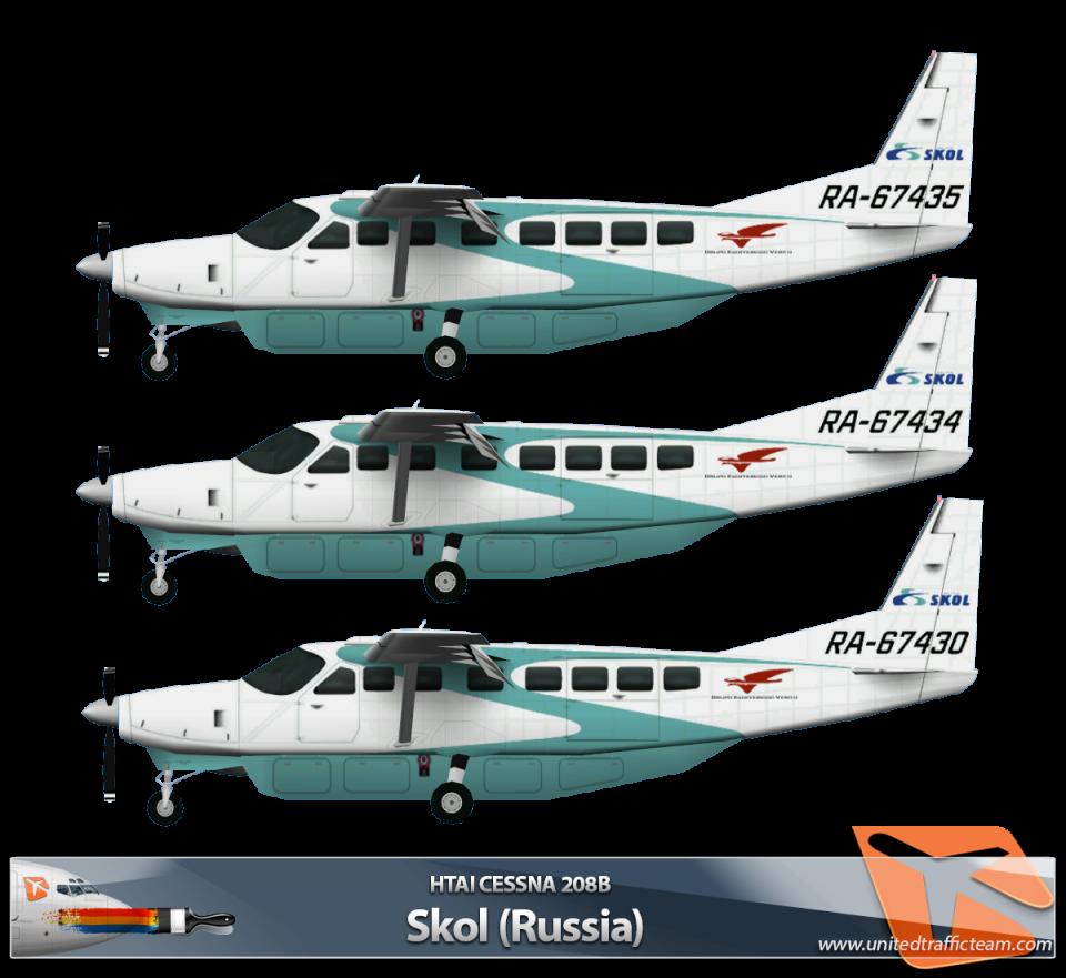 HTAI Cessna 208B Skol