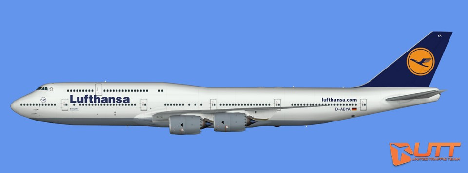 Lufthansa Boeing 747-8i (FSX,Prepar3D)